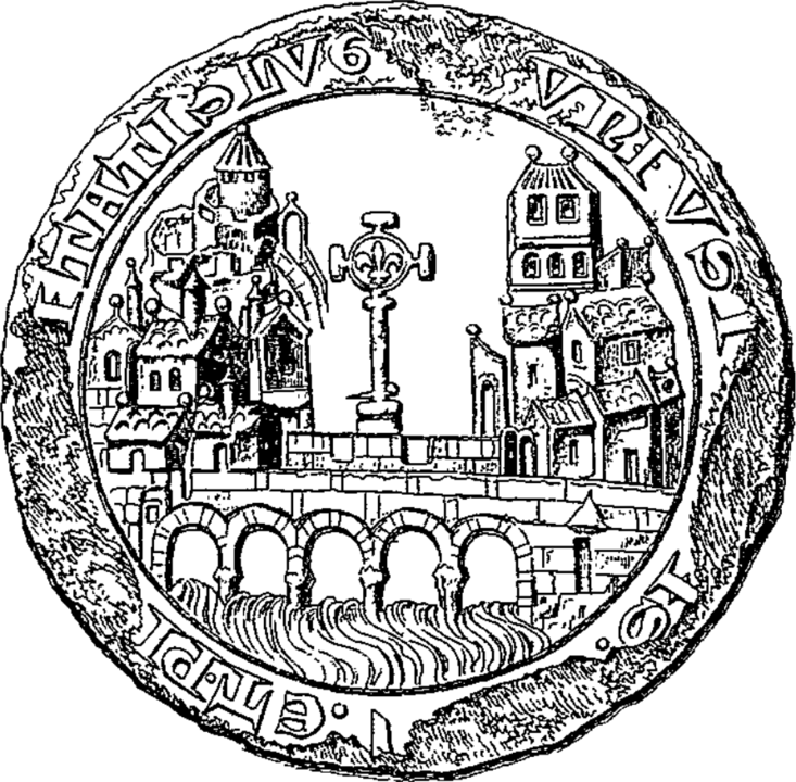 733px Sceau de Lyon en 1271