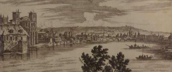 Gravure Nicolas Langlois XVIIè musée Gadagne