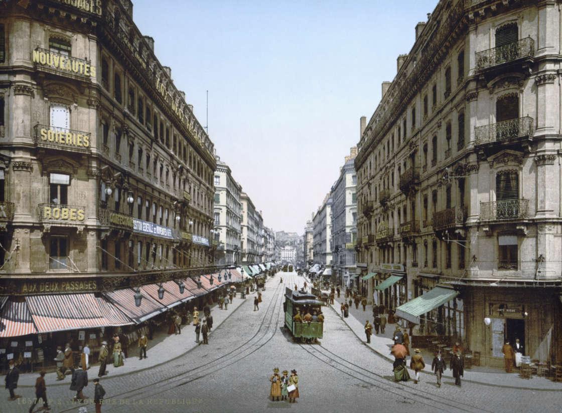 Lyon ruerepublique congres